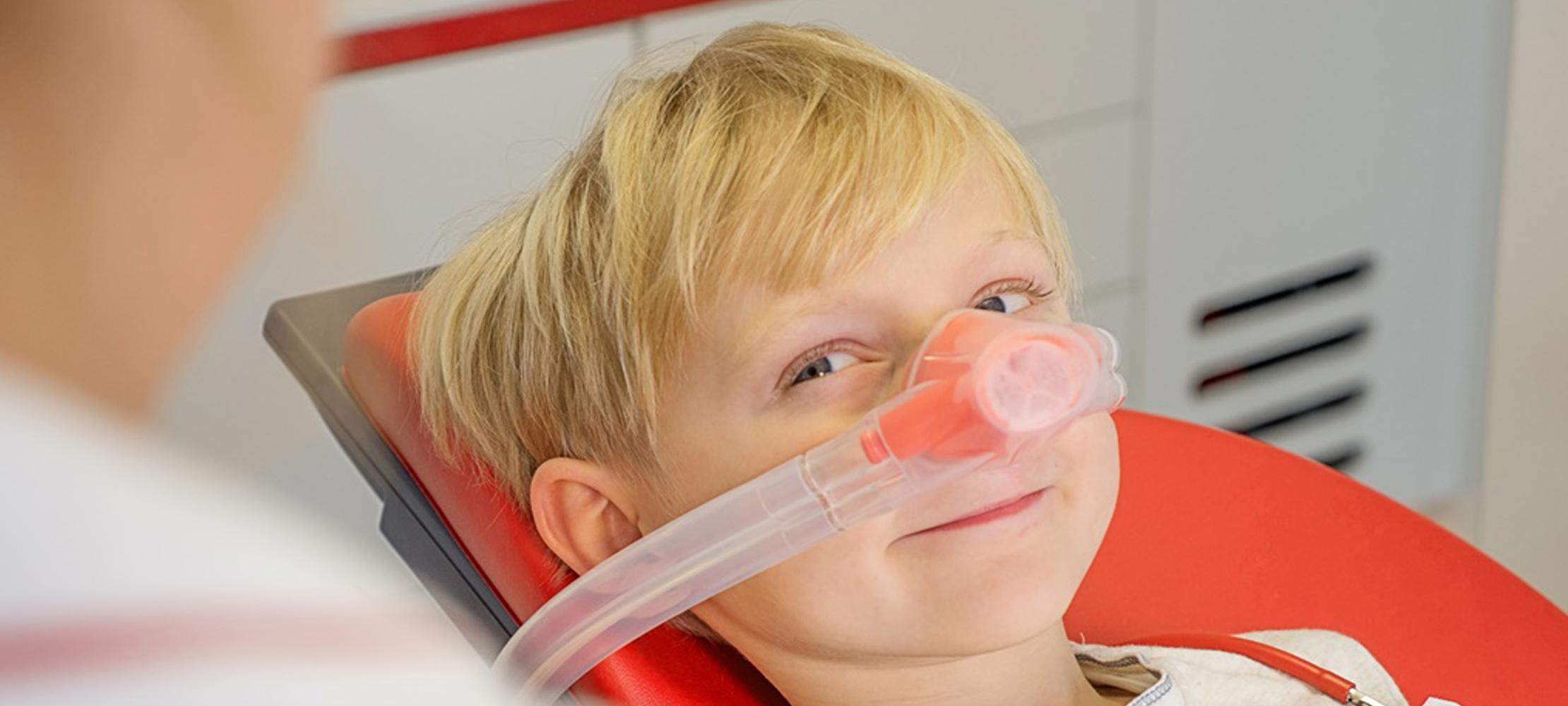 Zahnarzt Nürtingen Lachgas für Kinder